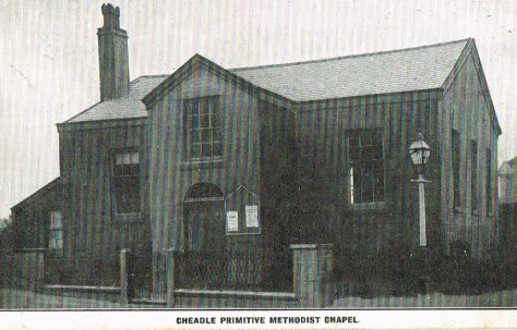 Cheadle Primitive Methodist Chapel