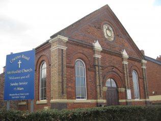 Winsford Primitive Methodist Chapel, Chester Road, Over, Cheshire
