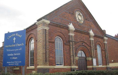 Over Primitive Methodist Chapel, Chester Road, Over, Winsford, Cheshire