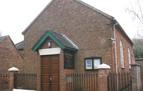 Church Broughton Primitive Methodist Chapel Derbyshire