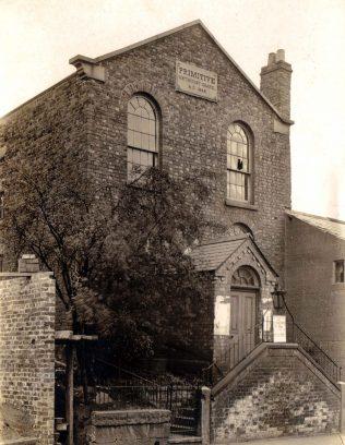 Tarporley Primitive Methodist chapel   Provided by Peter Sandercock