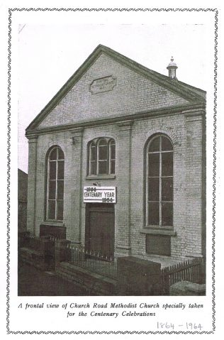 Cinderford Primitive Methodist chapel at the time of its centenary in 1964 | Sylvia Cooke