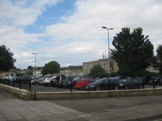 Site of the Lewis Lane Primitive Methodist Chapel, now a car park | Photo taken 2016 by E & R Pearce