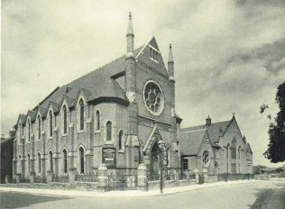 Claremont Street Church and Schools, 1930