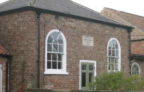 Claxton Primitive Methodist Chapel North Yorkshire