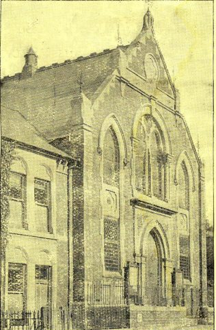 Clifton Street chapel, Swindon | programme for the new organ opening 1931