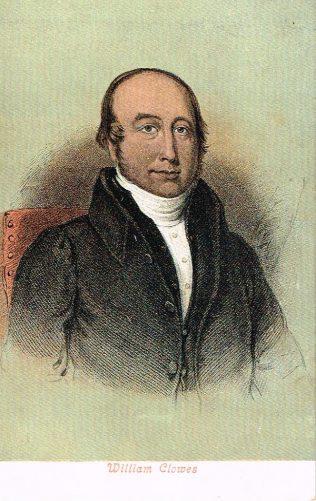 Clowes, William (1780-1851) | Englesea Brook Museum 16b.03