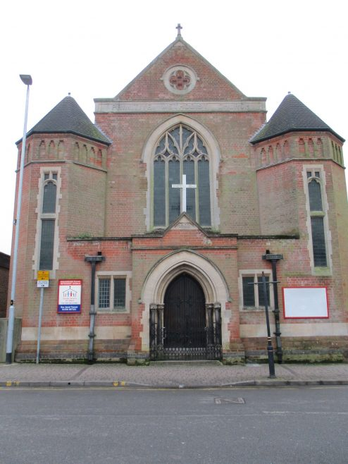 Coalville Primitive Methodist chapel from the front | Christopher Hill January 2018