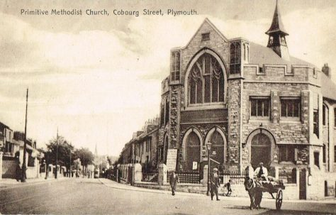 Plymouth Primitive Methodist Church, Cobourg Street