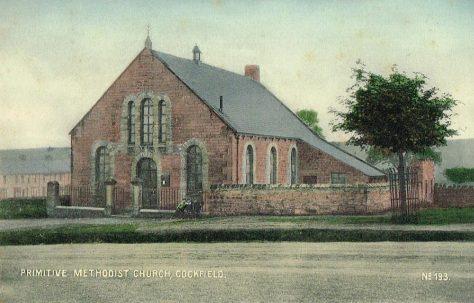 Cockfield Primitive Methodist Chapel, County Durham