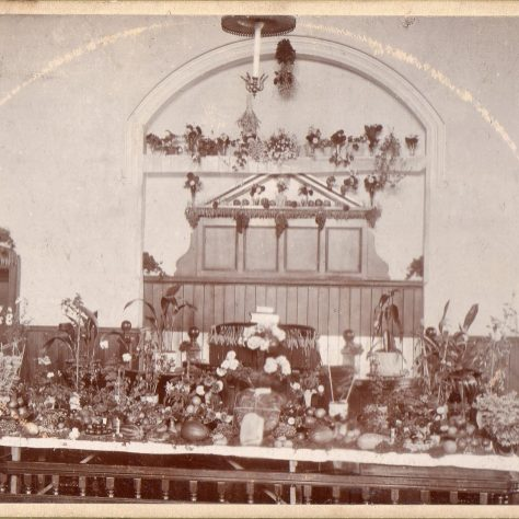 Harvest Festival at Coldwell Street PM Chapel, 1900 | Bede Circuit Archive Collections