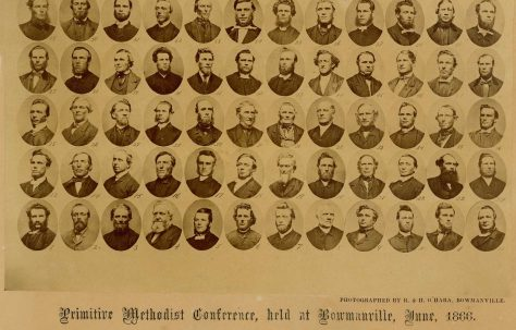Delegates to the PM Conference at Bowmanville, Ontario, Canada, June 1866