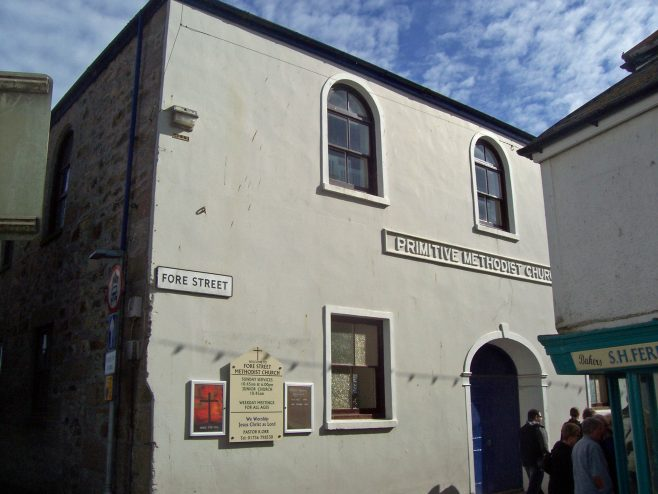 St. Ives Primitive Methodist Chapel, Fore Street, St. Ives | Robin Crossley