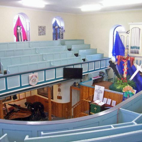 Inside St. Ives P M Chapel where Henry was stationed 1883-1886 | Robin Crossley