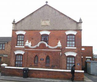 Cotmanhay Primitive Methodist chapel; now Chapel Court | Christopher Hill 2015