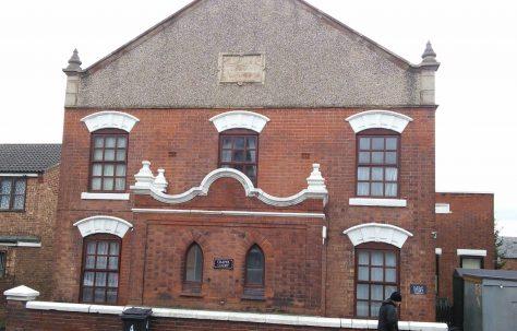 Ilkeston Cotmanhay Primitive Methodist chapel