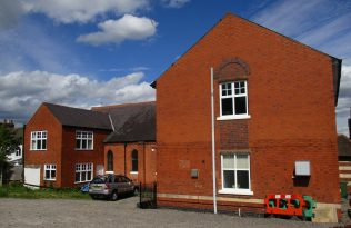 Rear of Countesthorpe Primitive Methodist chapel and school | Christopher Hill 2016