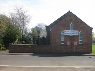Cramlington (Sunnyside, Station Road) Primitive Methodist Church Northumberland