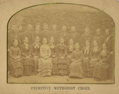 Wedgwood Chapel Choir, Crewe, 1878