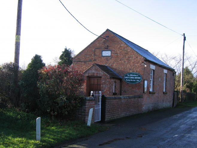 Crewe-by-Farndon PM Chapel, Cheshire