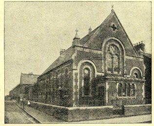 Cricklade Road Primitive Methodist chapel | Brinkworth and Swindon Synod Centenary Handbook 1910