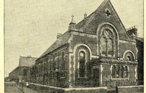 Swindon; Cricklade Road Primitive Methodist chapel