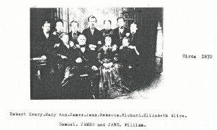 Cronkshaw family circa 1870