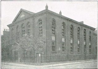 Curzon Street Primitive Methodist Church, c1918 | Primitive Methodist Conference Handbook 1907
