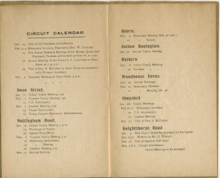 Circuit calendar for 1918, January - March
