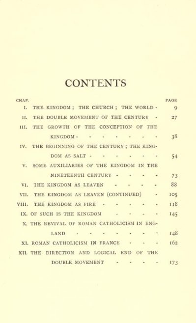 Kendall, H B, 'Christ's kingdom and church in the nineteenth century' (1901) | click on picture to see full size