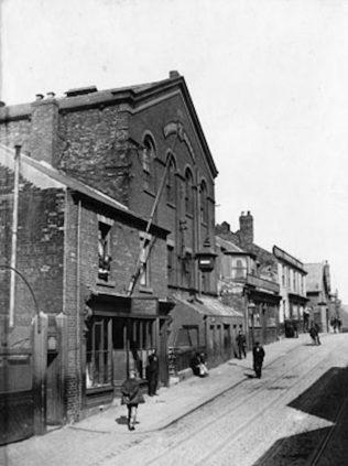 Corstophine Town / Templetown Primitive Methodist chapel South Shields | Newcastle District Archives