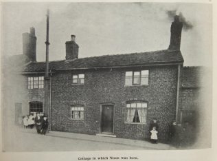 Cottage at Goldenhill where James Nixon was born   Primitive Methodist Magazine 1902