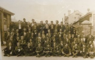 Group of Conscientious Objectors at Princetown Work Camp - William Ralph may be among them
