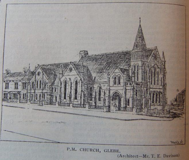 South Shields Glebe Primitive Methodist chapel | Christian Messenger 1905/176