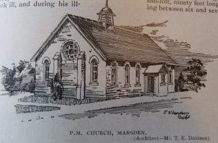 South Shields Marsden Primitive Methodist chapel | Christian Messenger 1905/176