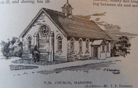 South Shields Marsden Primitive Methodist chapel