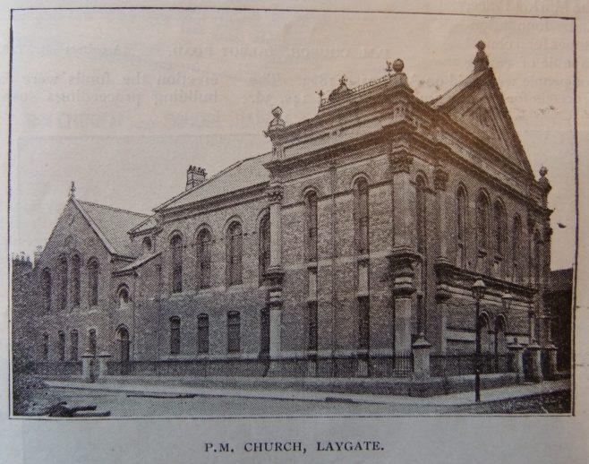 South Shields Laygate Primitive Methodist chapel | Christian Messenger 1905/176
