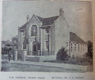 South Shields Talbot Road Primitive Methodist chapel | Christian Messenger 1905/176
