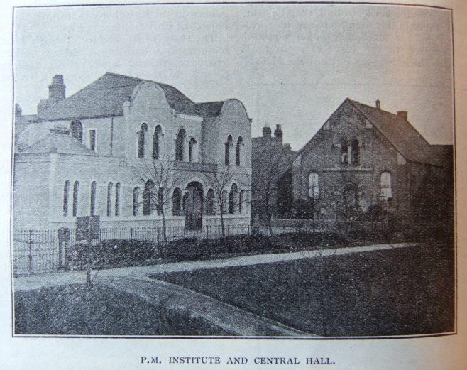 Ellesmere Port Primitive Methodist Institute and Central Hall | Christian Messenger 1905/23