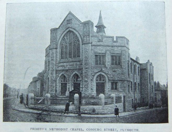 Plymouth Cobourg Street Primitive Methodist chapel | Christian Messenger 1914/89