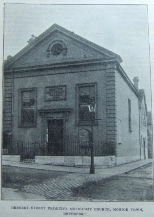 Morice Town Primitive Methodist chapel | Christian Messenger 1914/89