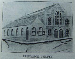 Penzance Mount Street chapel   Christian Messenger 1914/183
