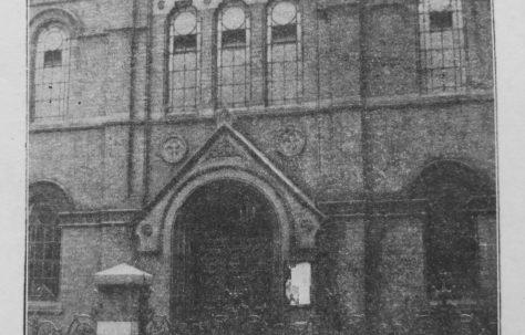 Smethwick Regent Street Primitive Methodist chapel