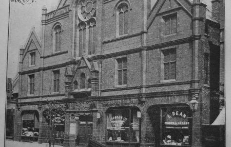 Birmingham Bristol Hall Primitive Methodist chapel