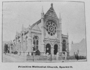 Primitive Methodism in Birmingham