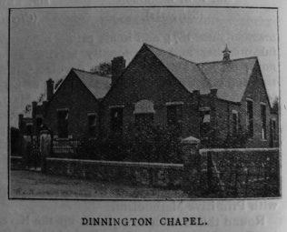 Dinnington Primitive Methodist chapel and school | Christian Messenger 1918/10