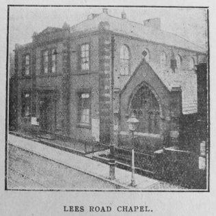 Oldham Lees Road Primitive Methodist chapel | Christian Messenger 1918