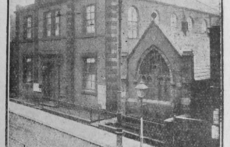 Oldham Lees Road Primitive Methodist chapel