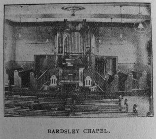 Bardsley Primitive Methodist chapel | Christian Messenger 1918