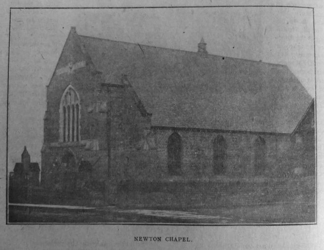 Newton Primitive Methodist chapel | Christian Messenger 1918/138